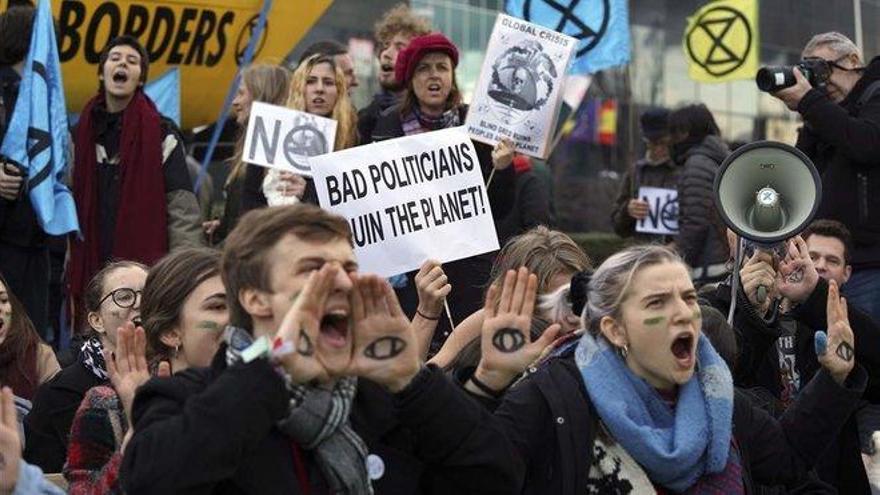 Los ecologistas se muestran decepcionados con la Cumbre del Clima