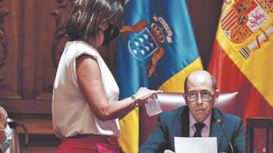 La Justicia desestima el recurso contra la moción de censura en Santa Cruz