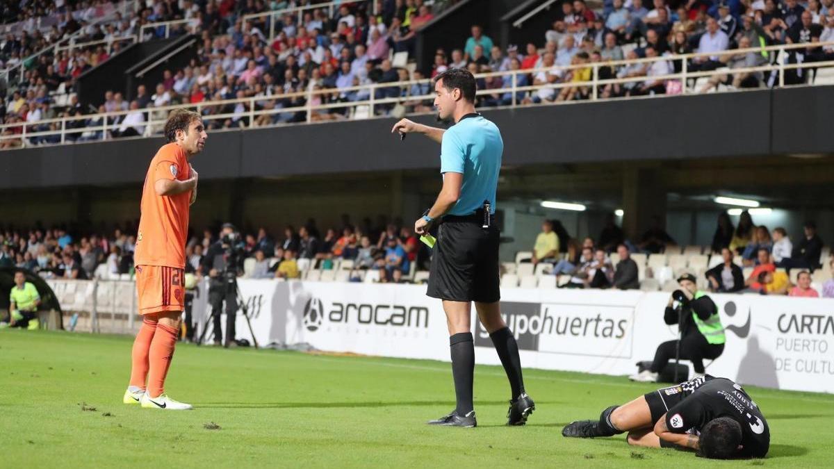 El albaceteño Rubén Ruipérez Marín arbitrará el Córdoba CF-UCAM Murcia