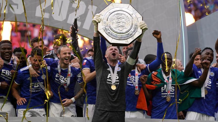 El Leicester sorprende en el último minuto al Manchester City para conquistar la Supercopa inglesa