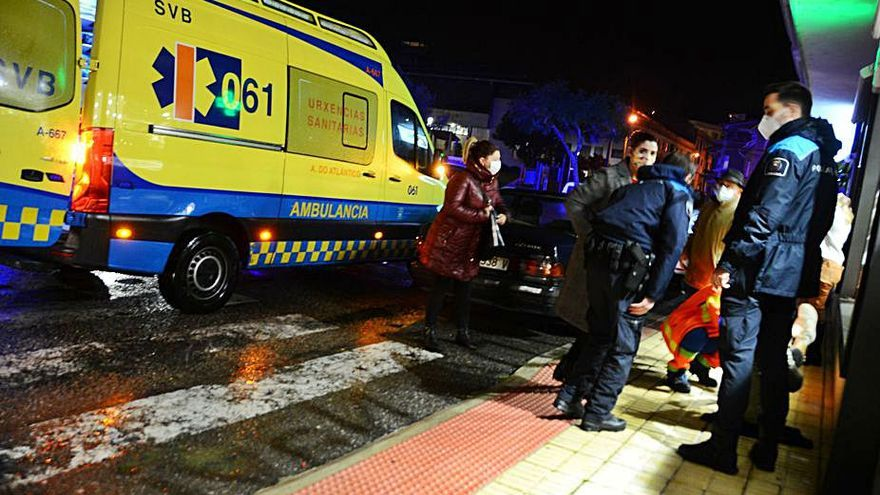 Nuevo atropello en Moaña, de una mujer en un paso de peatones
