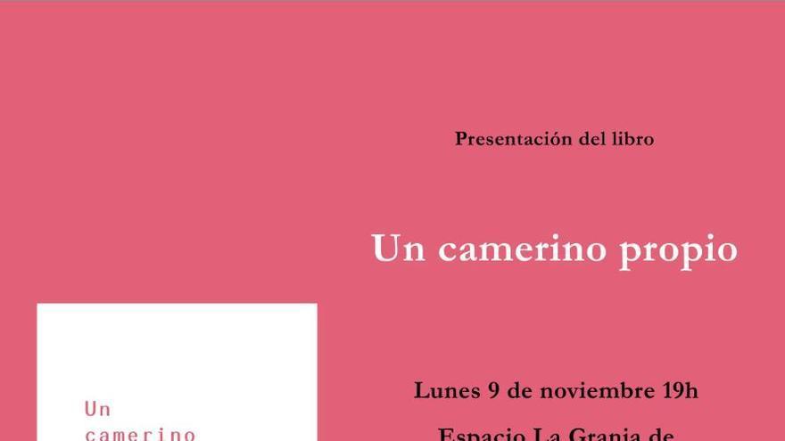 Presentación del libro 'Un camerino propio' de Daniel María