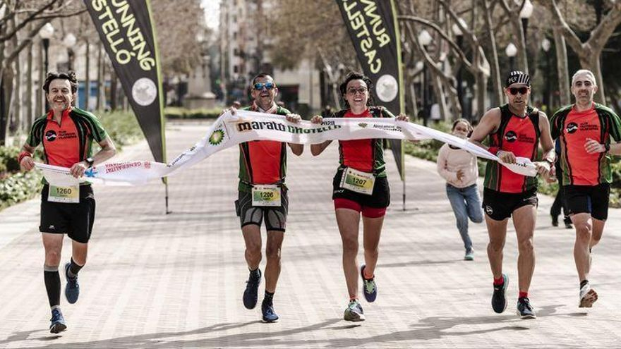 La 'foto-finish' del Marató BP Virtual