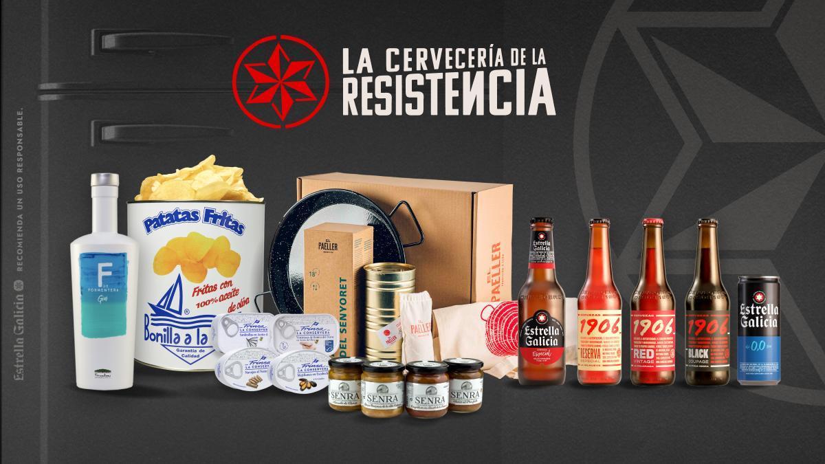 Estrella Galicia abre las puertas de La Cervecería de La Resistencia a productos de calidad.