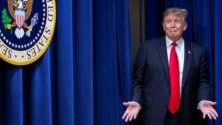 """Trump se despide: """"Estoy orgulloso de ser el primer presidente sin nuevas guerras"""""""