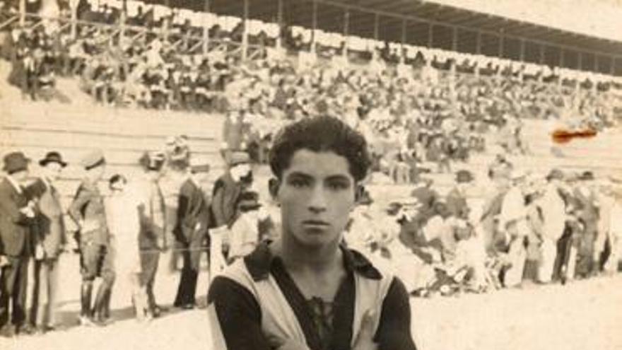 La leyenda de Padrón el 'Sueco', el primer canario en jugar con la Selección
