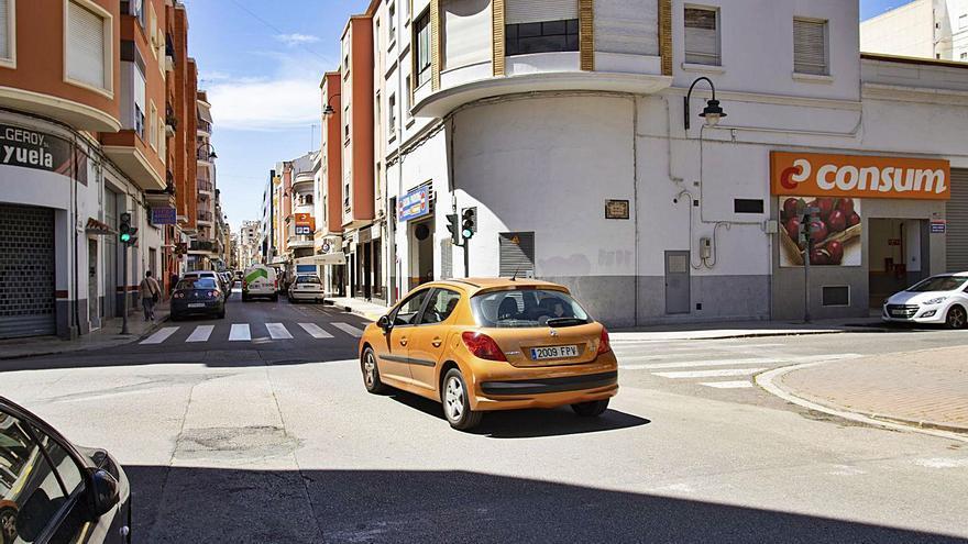 Alzira eliminará vehículos y ampliará aceras en otro eje central en la ciudad