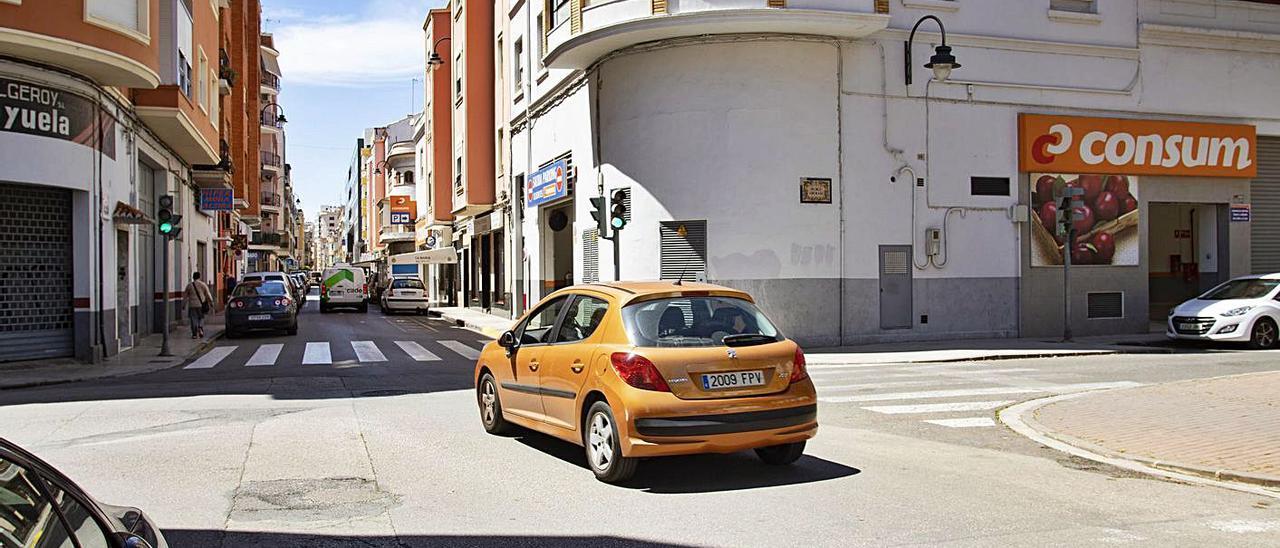 La nueva ordenación en Hort dels Frares seguirá el modelo de la calle Pérez Galdós. | PERALES IBORRA