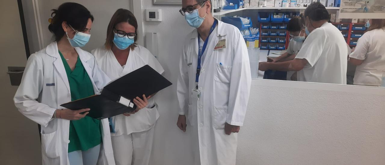 Una imagen del servicio de Neumología del Hospital General Universitario de Elche