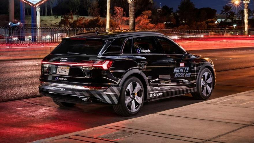 Audi transforma el e-tron en una plataforma de realidad virtual en el CES 2019