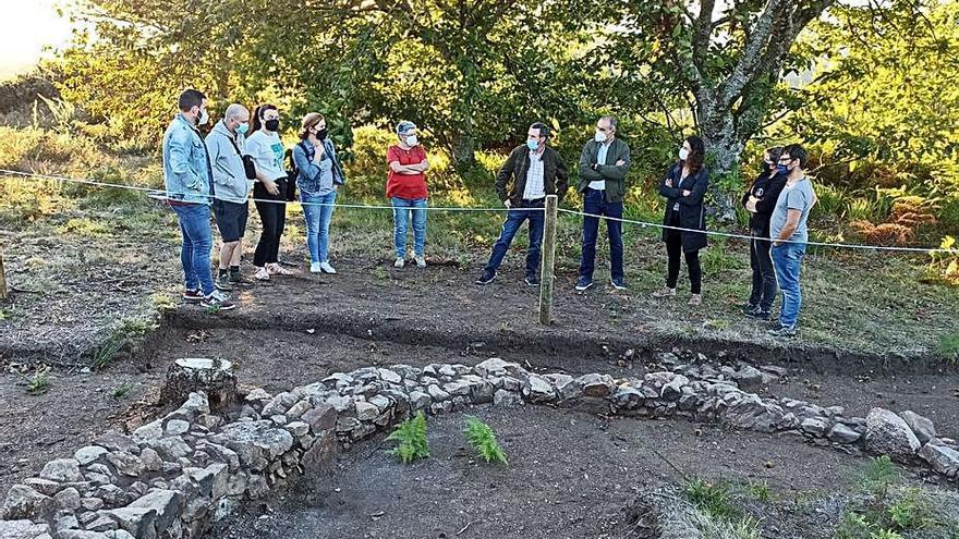 Finalizan los primeros trabajos de excavación en el Castro de A Chan