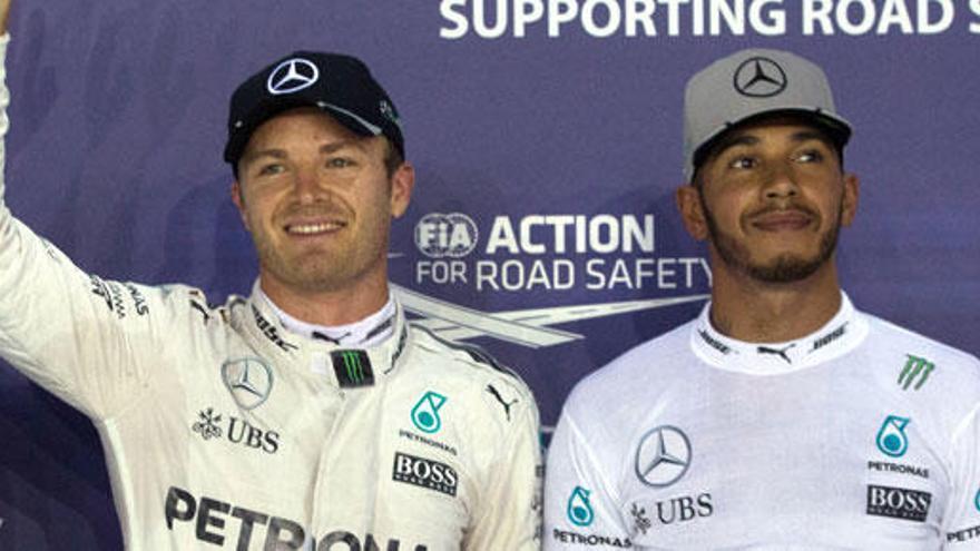 Rosberg busca en Austin dar el golpe definitivo a Hamilton