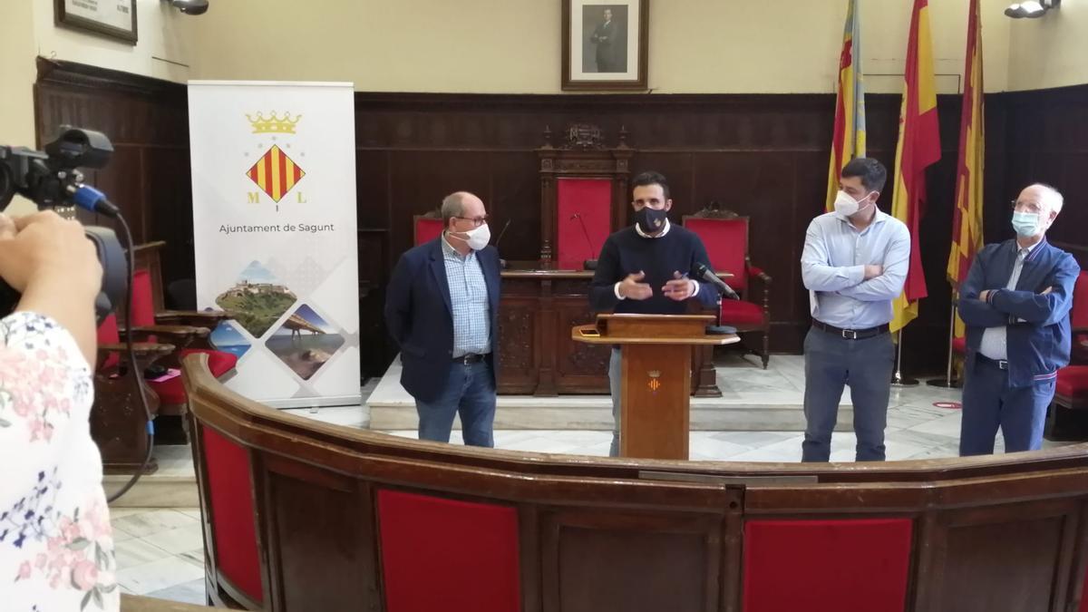 Sagunt pedirá la nulidad del proyecto de espigones en Almenara
