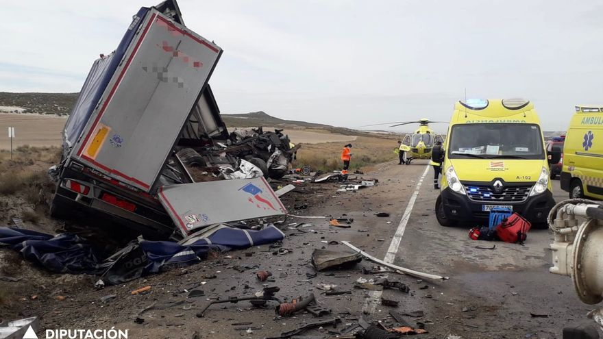 Un camionero de 53 años, primera víctima mortal de la N-2 tras la liberalización de la AP-2