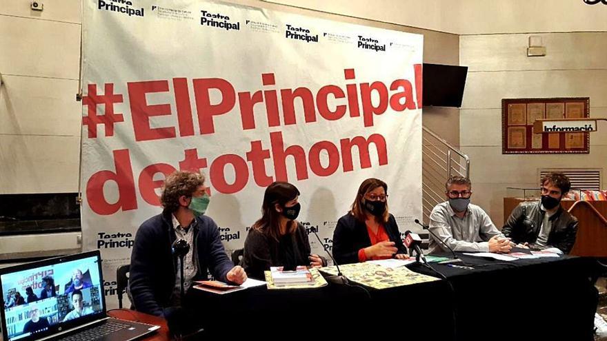 El Teatre Principal estrena 'Els condemnats' de Baltasar Porcel