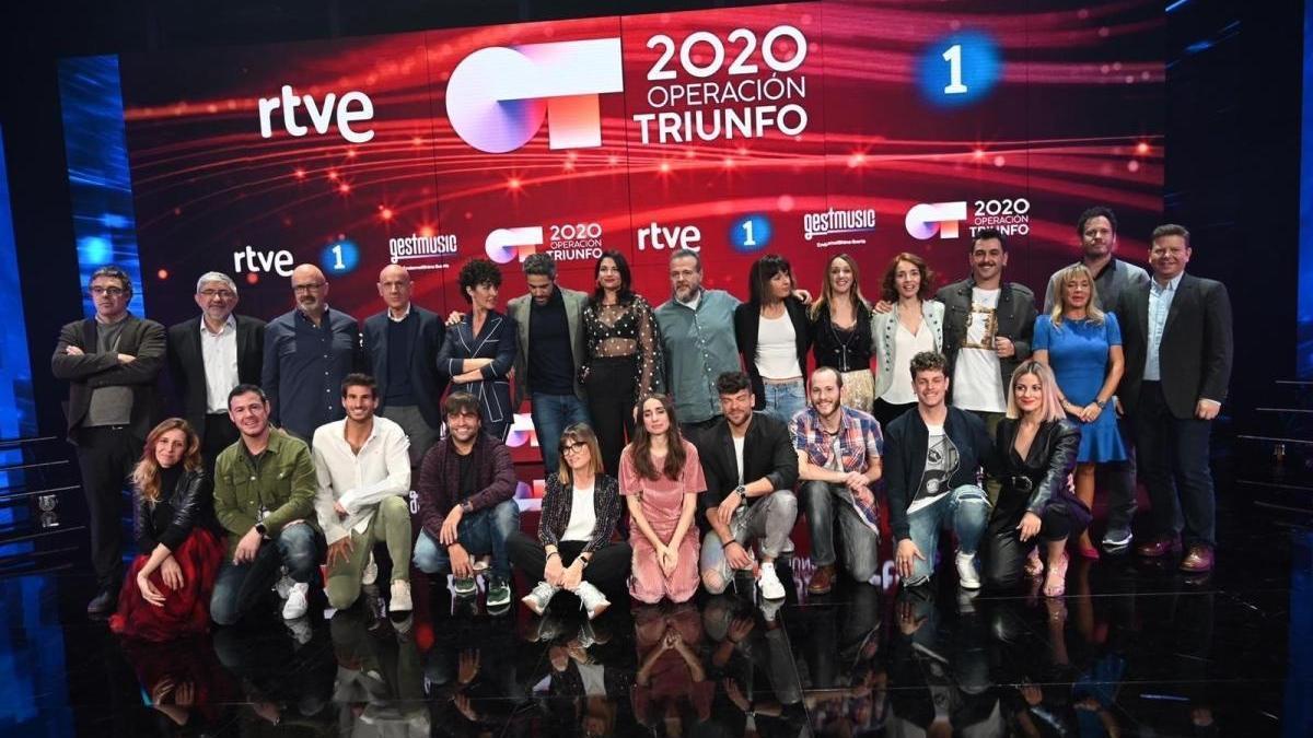 Operación Triunfo 2020.