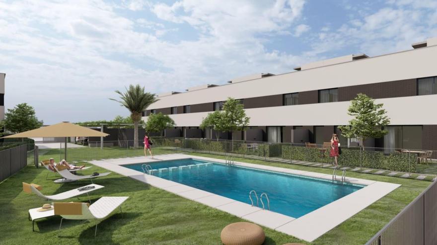 Ática se alía con Inmoglaciar para promover 234 viviendas en Valencia