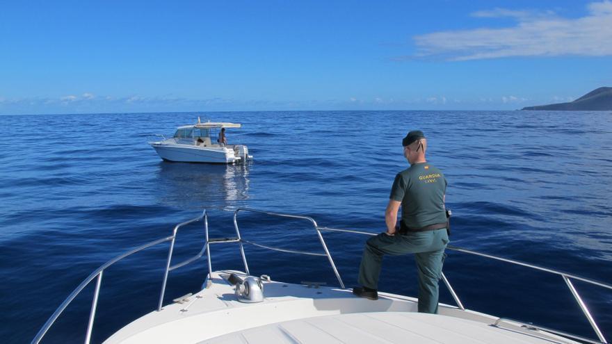 La Guardia Civil decomisa en La Palma 16 kilos de pulpo y pescado