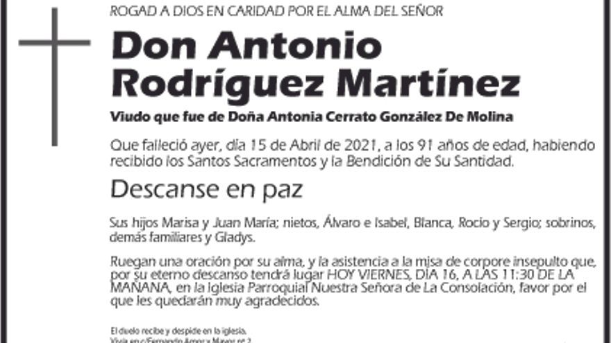 Antonio Rodríguez Martinez