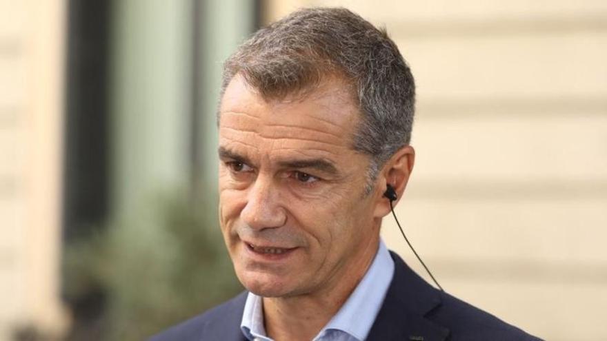 Toni Cantó se despide como diputado en el Congreso