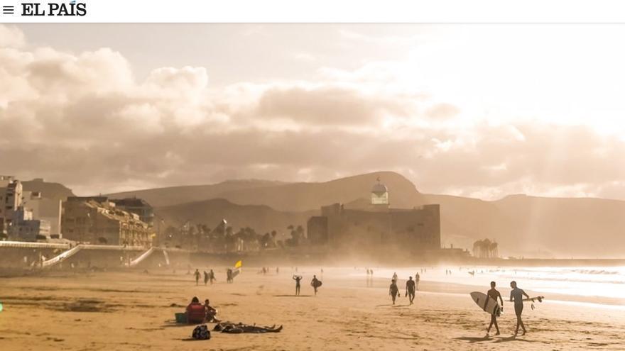 El abecedario playero de El Viajero destaca el fenómeno de los nómadas digitales en Las Canteras