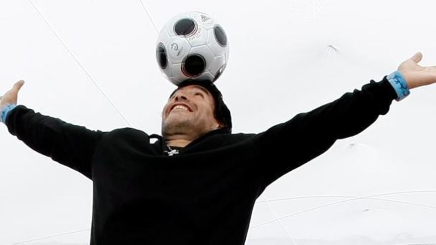 El gallego Maradona