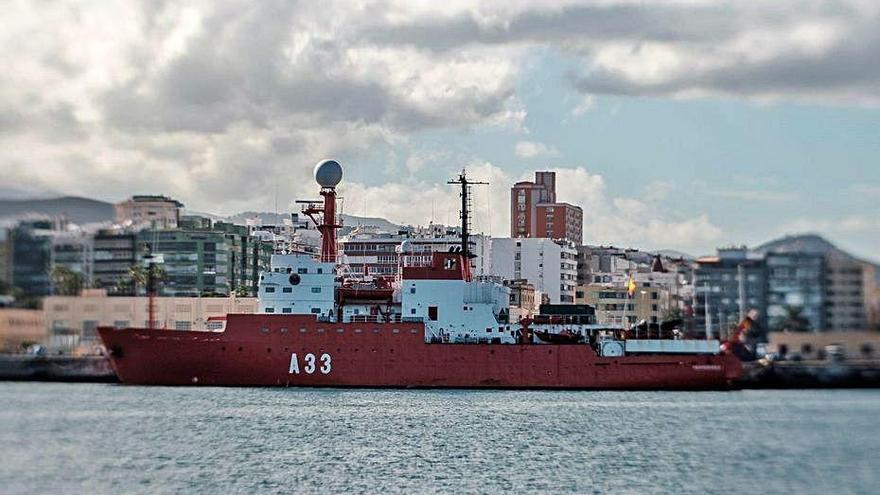 El Hespérides reanudará su travesía tras la cuarentena de la tripulación