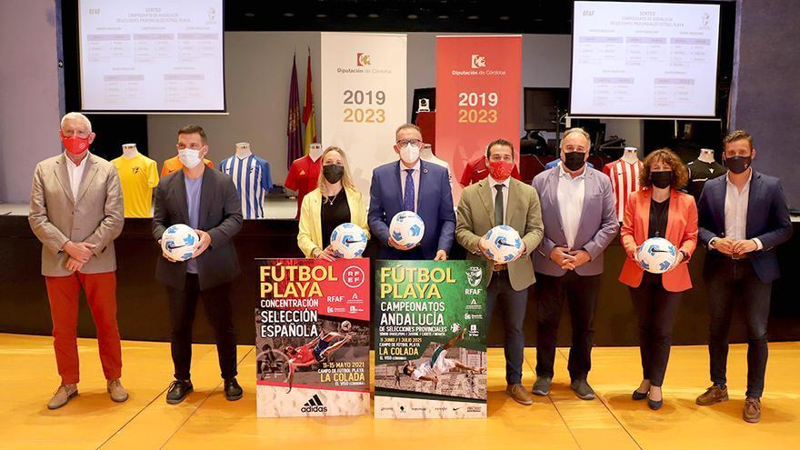 La playa de La Colada acogerá el Campeonato de Andalucía de Fútbol Playa