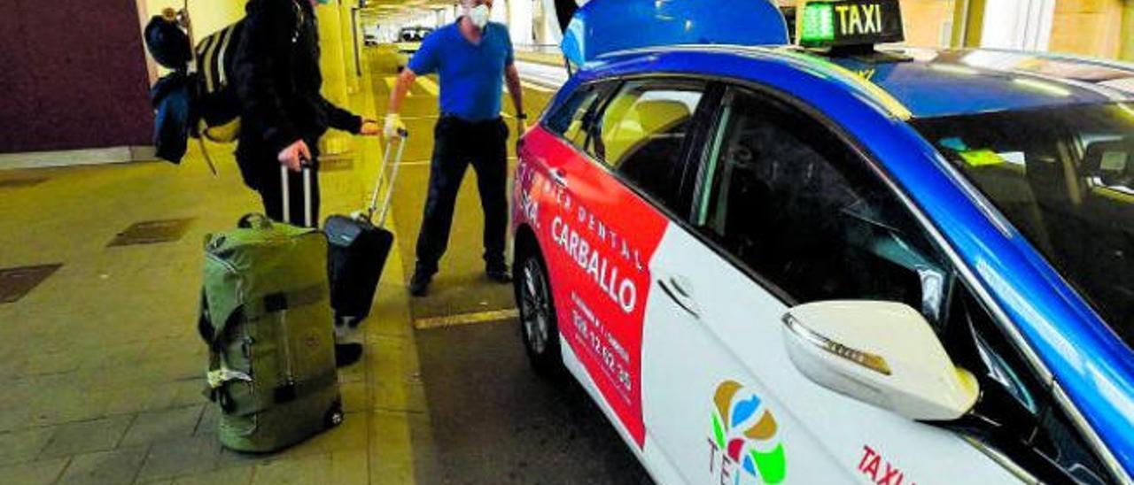El aeropuerto será exclusivo para los taxis locales hasta que se recupere la demanda