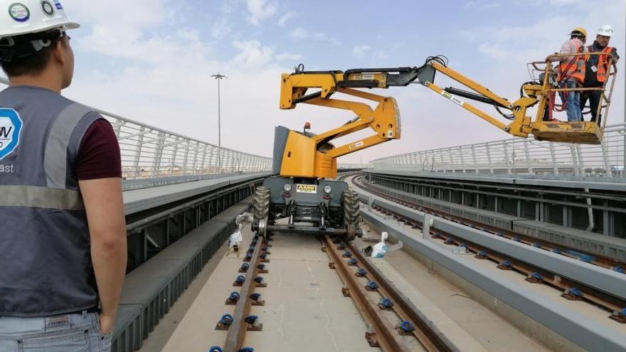 La maquinaria del Metro de Málaga construirá el metro de Riad