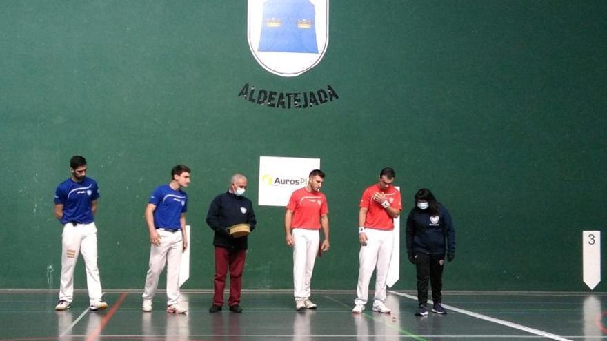 El zamorano Nuevo, con opciones de llegar a semifinales de la Liga de Castilla y León de pelota