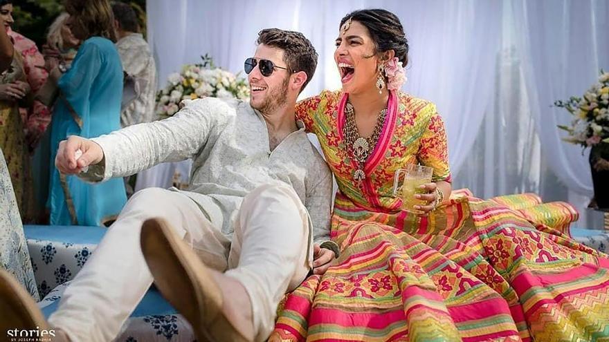 Nick Jonas y Priyanka Chopra ya son marido y mujer