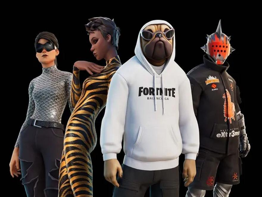 Balenciaga diseña una línea de ropa para el videojuego de Fornite