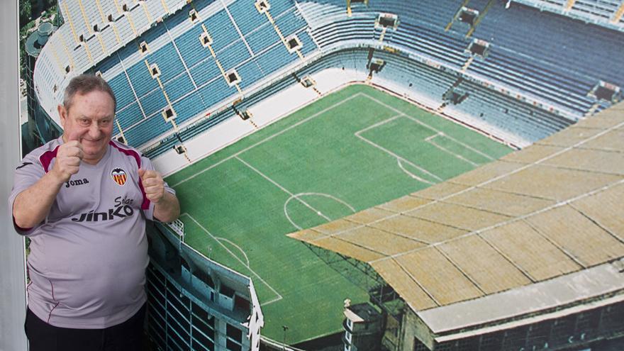 Una silla vacía recordará a Españeta en Mestalla