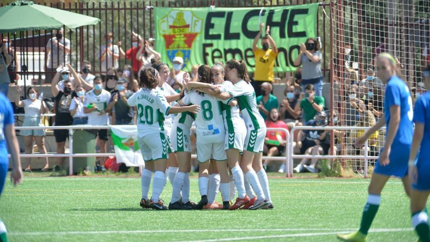 El Elche femenino da un paso de gigante hacia Segunda (5-0)