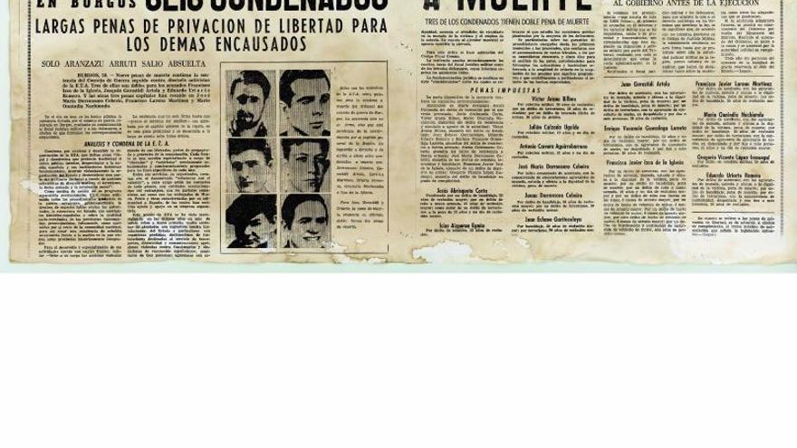 Rescoldos del proceso de Burgos