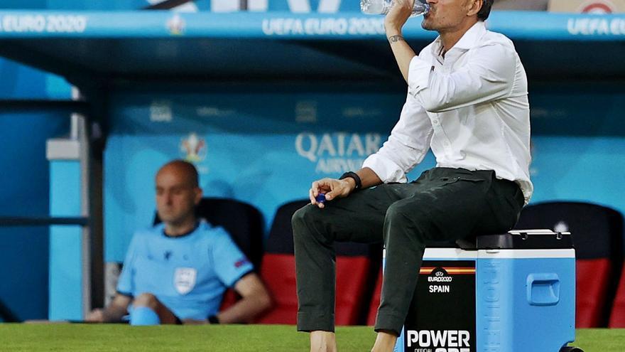 """Luis Enrique: """"Me sabe mal por los jugadores y la afición"""""""
