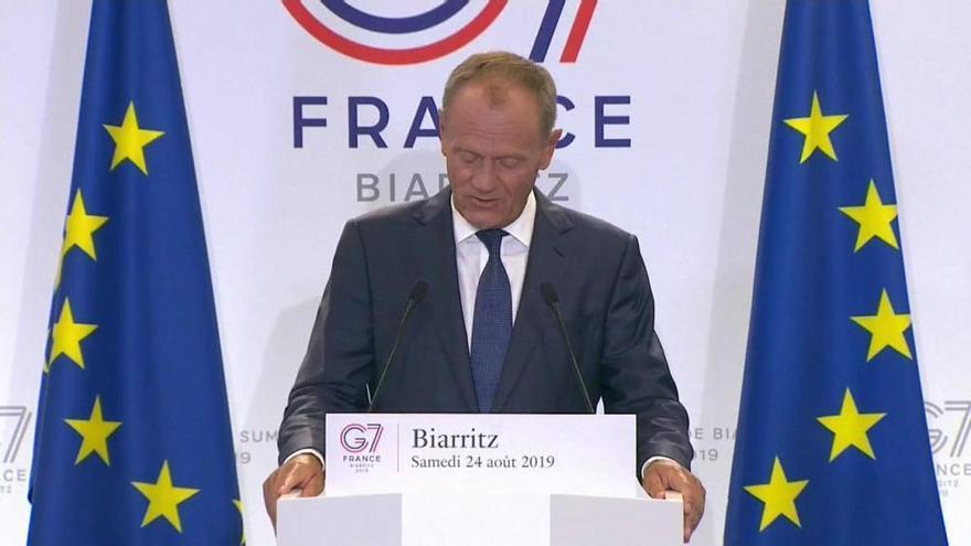 Tusk propone invitar a Ucrania al G7 y cierra la puerta a Rusia
