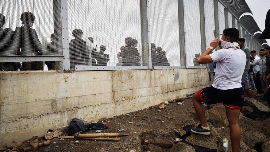 En directo: Última hora de la crisis migratoria en Ceuta y Melilla