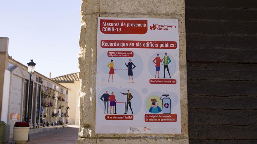 Xàtiva suspende actividades y cierra parques y jardines por el alto número de contagios