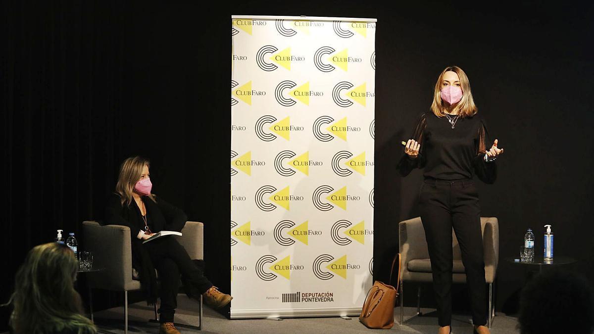 Patricia Ramírez fue presentada por Diana Rodríguez. |    // RICARDO GROBAS
