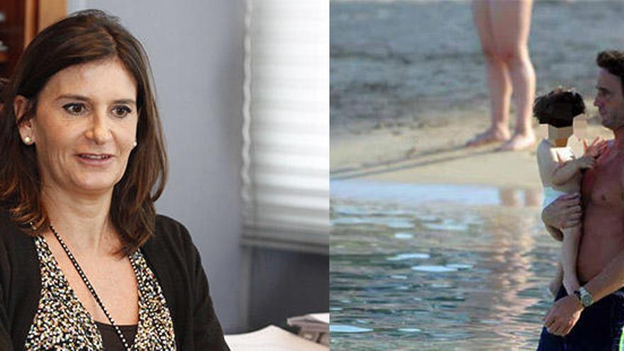 Carmen Matutes y Álvaro Muñoz Escassi, la pareja del verano