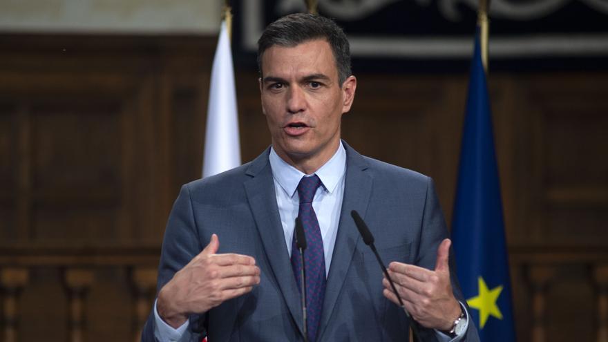 Pedro Sánchez inicia una visita relámpago de 24 horas a Argentina