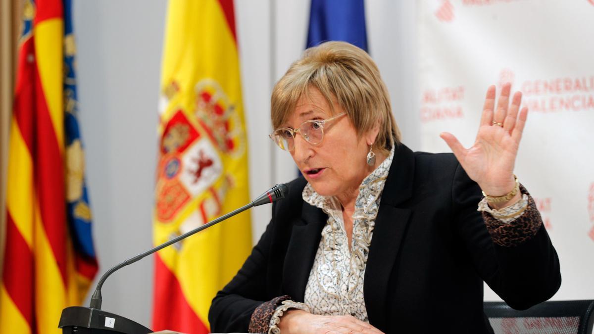 La consellera Ana Barceló, en una fotografía de archivo.