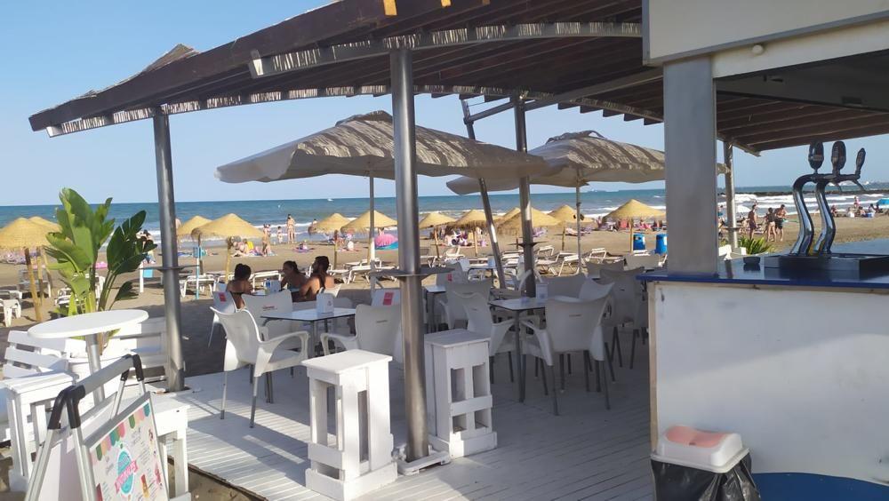 Chiringuitos de playa en Valencia
