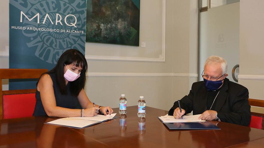 El MARQ y el Obispado colaboran para desarrollar un espacio museográfico en Orihuela