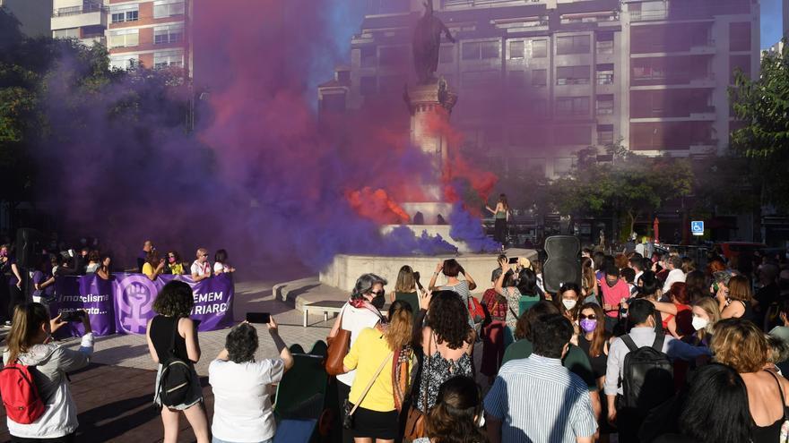 Manifestación en Huerto Sogueros