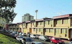 Complejo deportivo de Elviña. Estas instalaciones se encuentran entre las propiedades de la Vicepresidencia y Consellería de Presidencia. Figura un valor total de 8.639.579 euros.