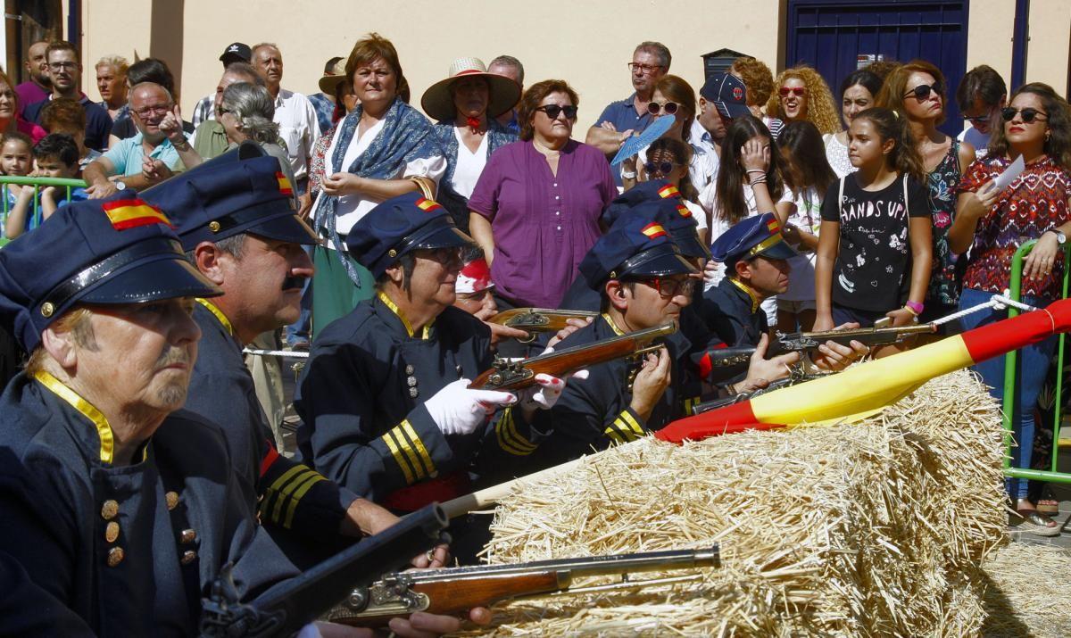 Recreación histórica de la Batalla de Alcolea en su 150 aniversario
