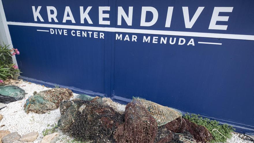 Pesca fantasma, les xarxes perdudes que segueixen pescant sense benefici a la Costa Brava